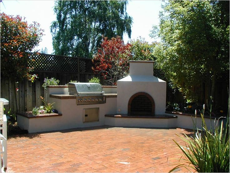 45 Perfect Backyard Bbq Landscaping Ideas 65 76 Best Images About House Outside Fire Place On Pinterest 8
