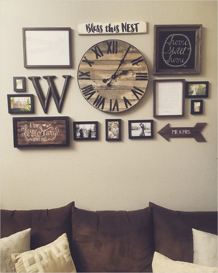 40 Creative Ideas Wall Decor for Living Room 14 Stylish Wall Decor Living Room Ideas 25 Best Ideas About Wall Clock Decor Pinterest 1