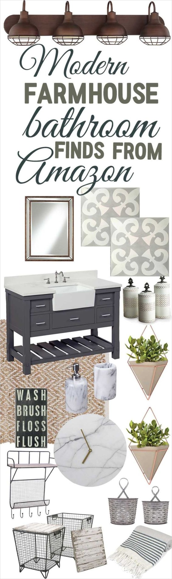 41 Beautiful Farmhouse Bathroom Accessories Ideas 91 Best 25 Modern Farmhouse Bathroom Ideas On Pinterest 3