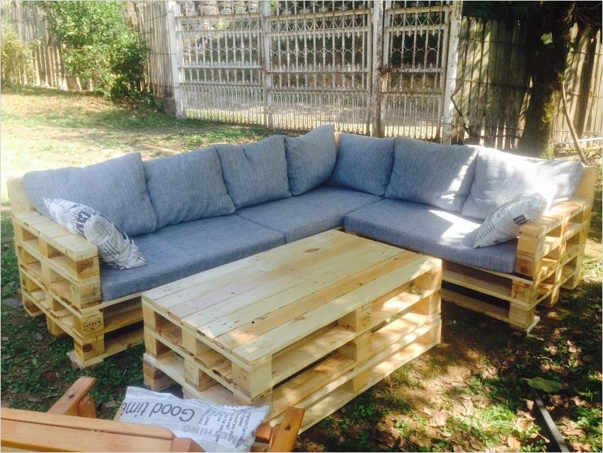 40 Diy Ideas Outdoor Furniture Made From Pallets 24 Garden Furniture Made From Pallets Pallet Idea 5
