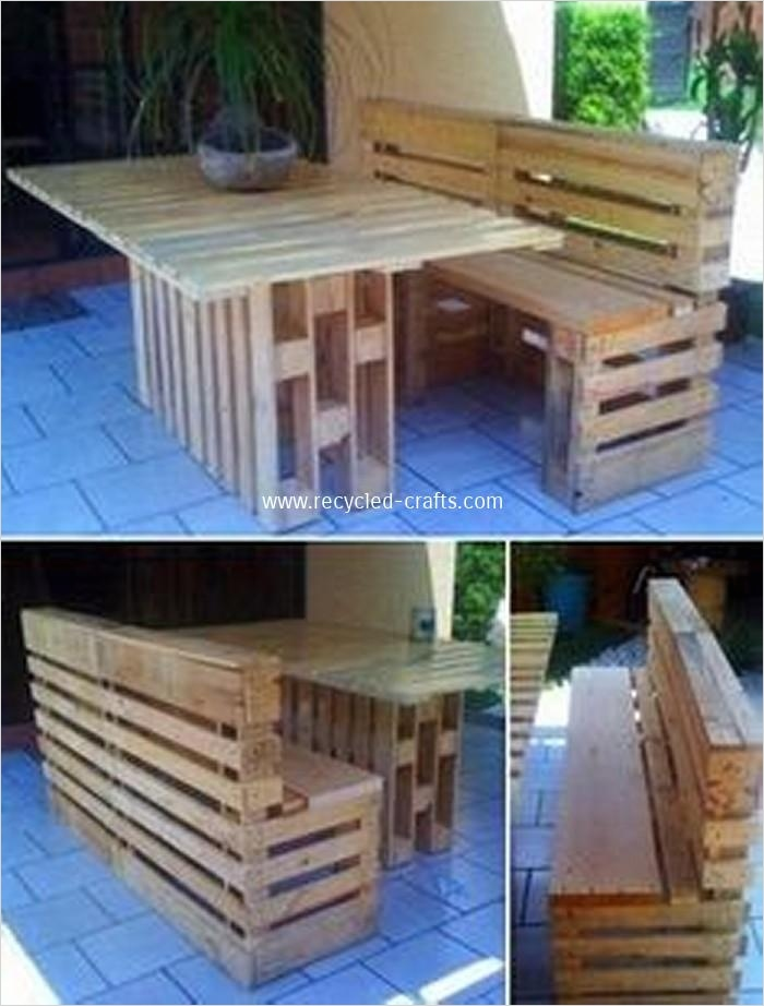 40 Diy Ideas Outdoor Furniture Made From Pallets 12 Patio Furniture Made From Recycled Wooden Pallets 2
