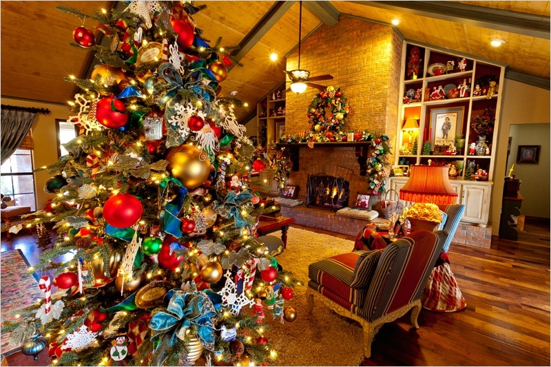 41 Amazing Country Christmas Decorating Ideas 56 30 Stunning New Ways to Decorate Country Christmas Tree Magment 8