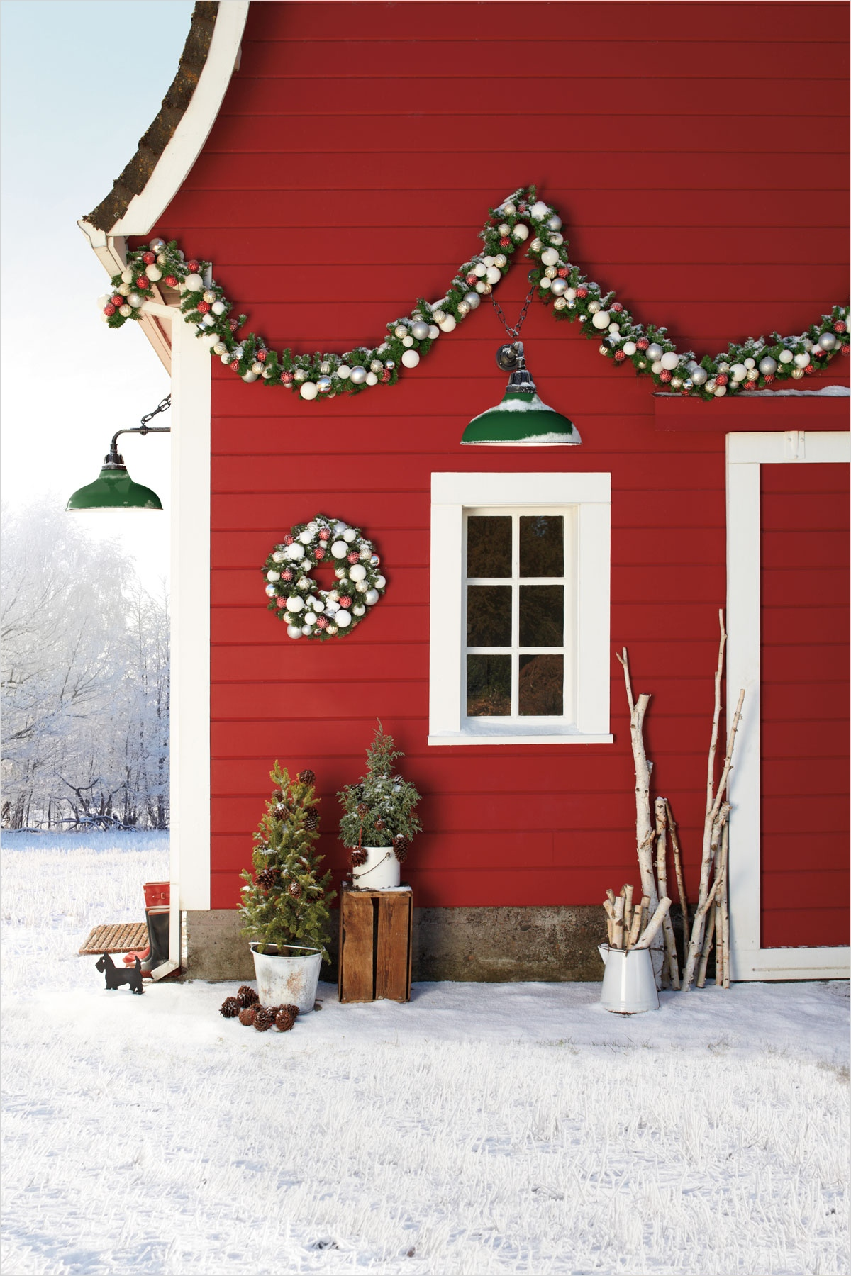 41 Amazing Country Christmas Decorating Ideas 99 36 Country Christmas Decorating Ideas How to Celebrate Christmas In the Country 7