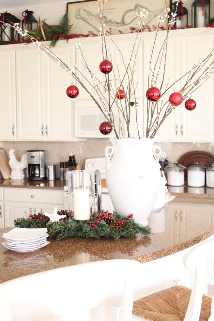 42 Awesome Kitchen Christmas Decorating Ideas 75 40 Cozy Christmas Kitchen Décor Ideas 3