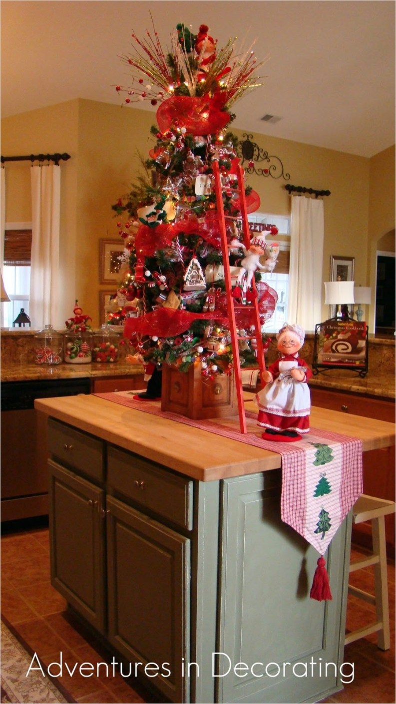 42 Awesome Kitchen Christmas Decorating Ideas 14 Adventures In Decorating Whimsical Christmas Kitchen 2