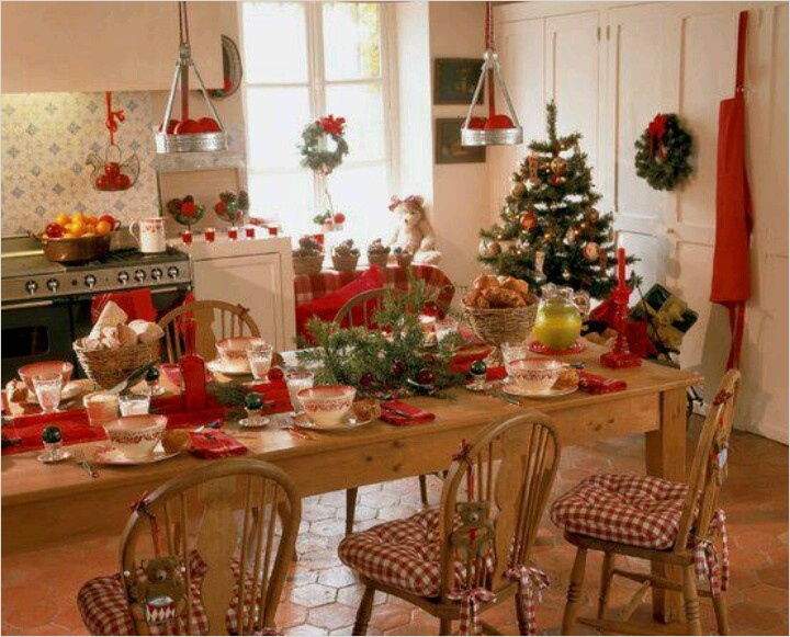 42 Awesome Kitchen Christmas Decorating Ideas 78 40 Cozy Christmas Kitchen Décor Ideas 2