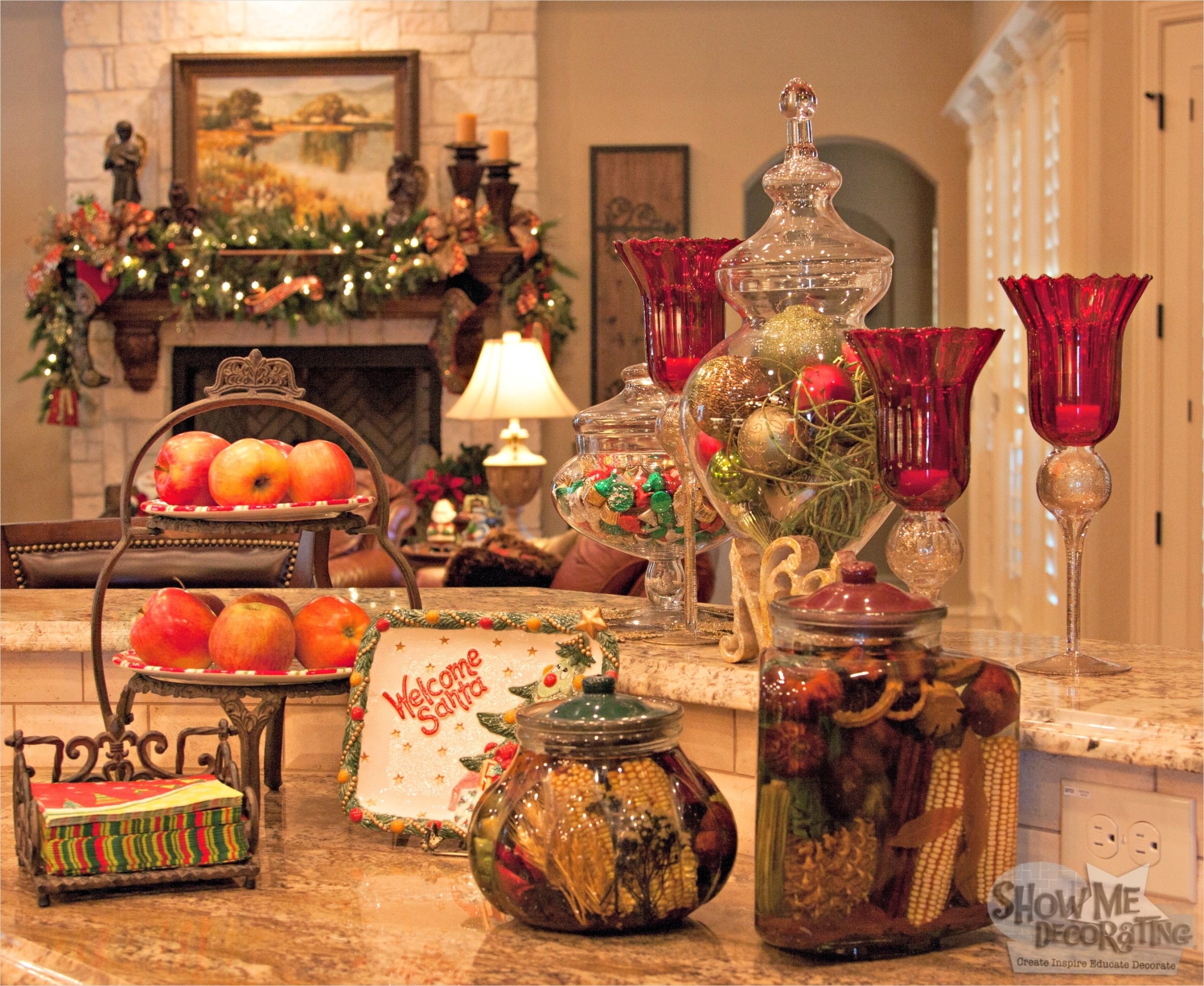 42 Awesome Kitchen Christmas Decorating Ideas 94 Show Me Decorating 3