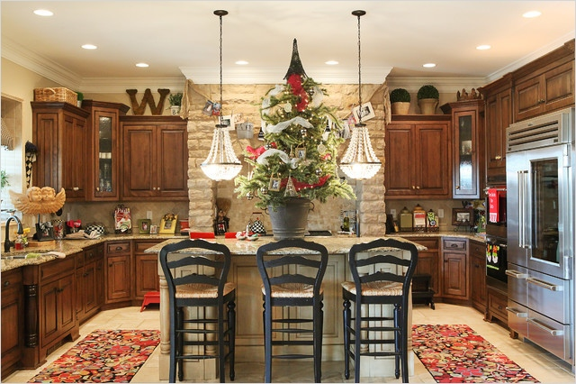 42 Awesome Kitchen Christmas Decorating Ideas 41 8 Perfectly Decorated Holiday Kitchens Shakeology 7