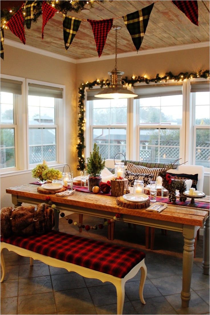 42 Awesome Kitchen Christmas Decorating Ideas 78 40 Cozy Christmas Kitchen Décor Ideas 9