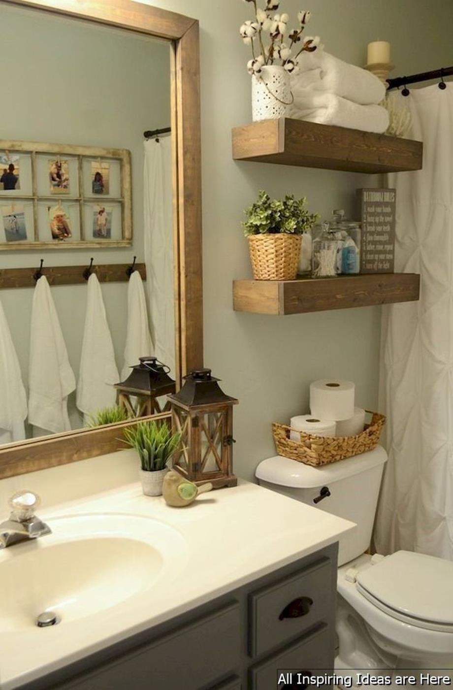 42 Perfect Small Bathroom Decorating Ideas 12