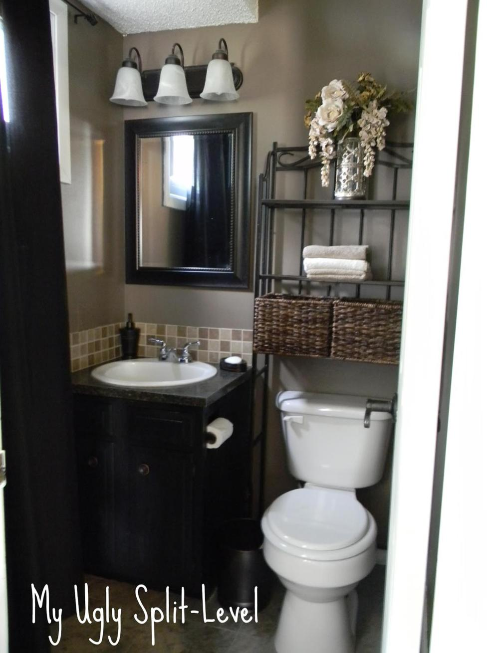 42 Perfect Small Bathroom Decorating Ideas 14