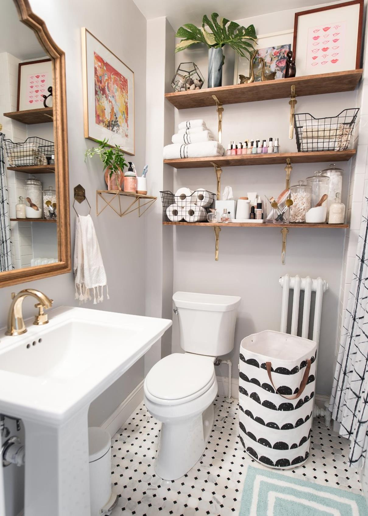 42 Perfect Small Bathroom Decorating Ideas 15