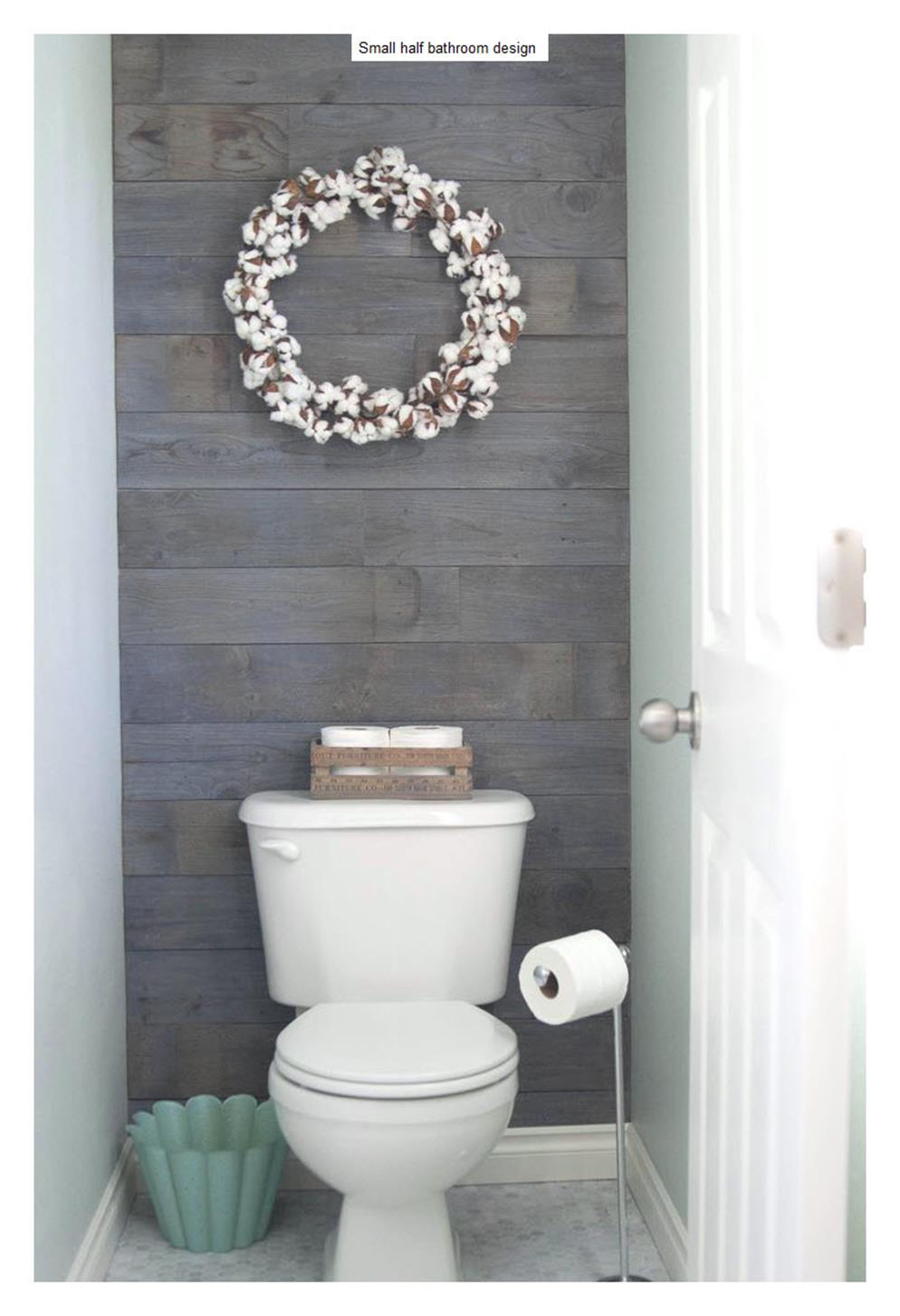 42 Perfect Small Bathroom Decorating Ideas 35