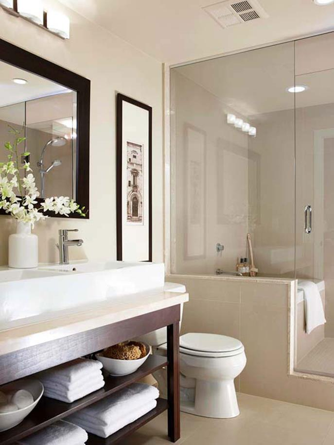 42 Perfect Small Bathroom Decorating Ideas 5