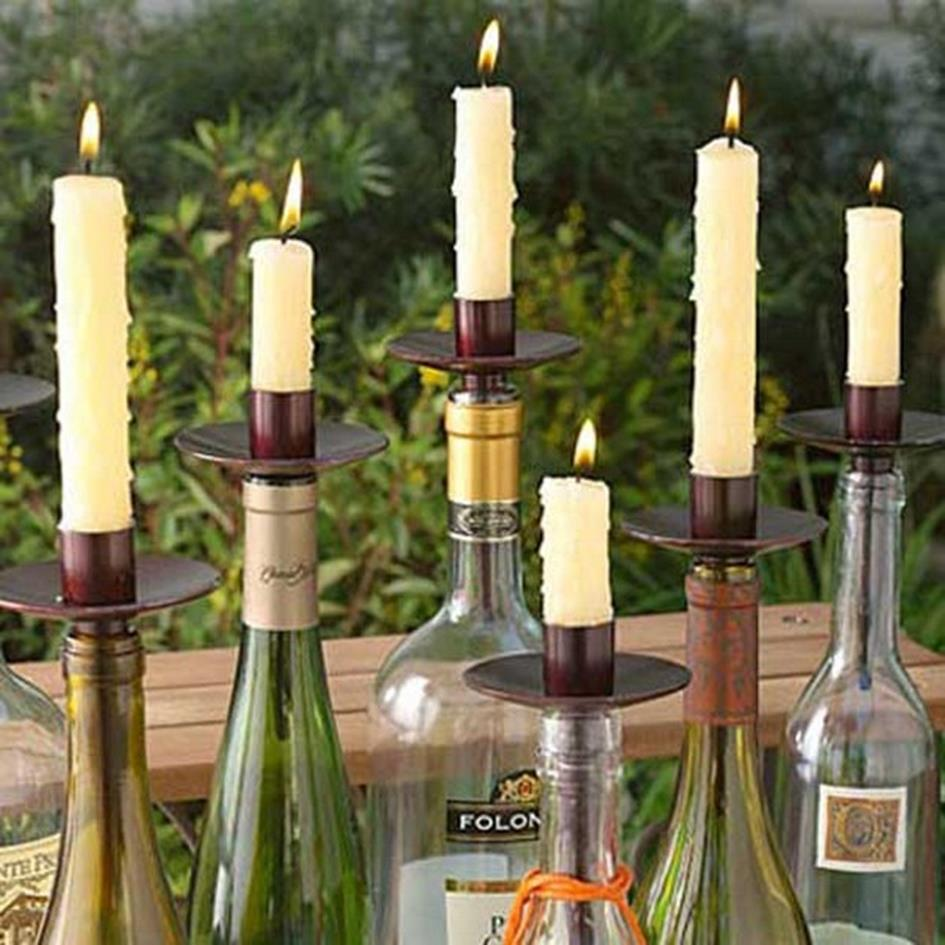 46 DIY Simple but Beautiful Wine Bottle Decor Ideas 25