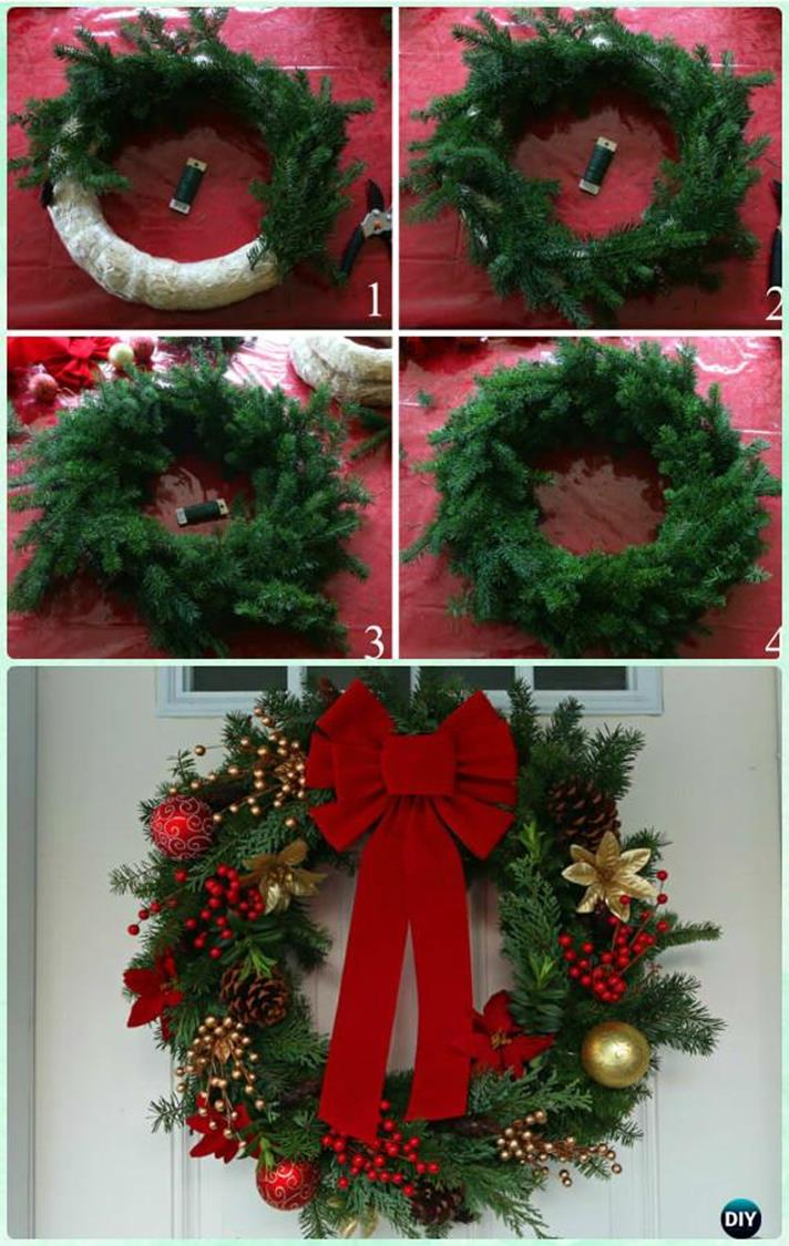 Best 40 DIY Christmas Wreath Ideas 31
