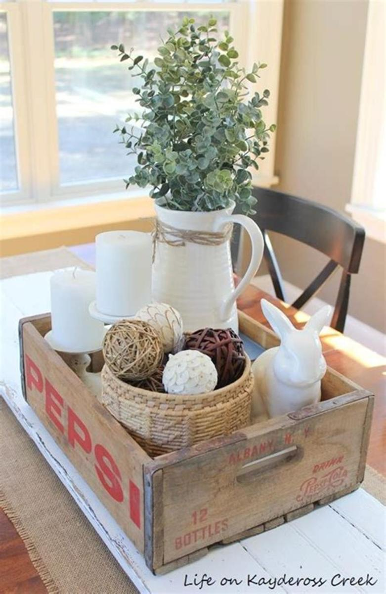 40 Beautiful Farmhouse Style Tray Decor Ideas 24