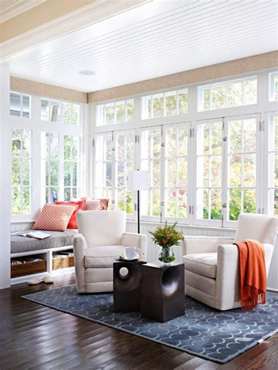50 Most Popular Affordable Sunroom Design Ideas on a Budget 18