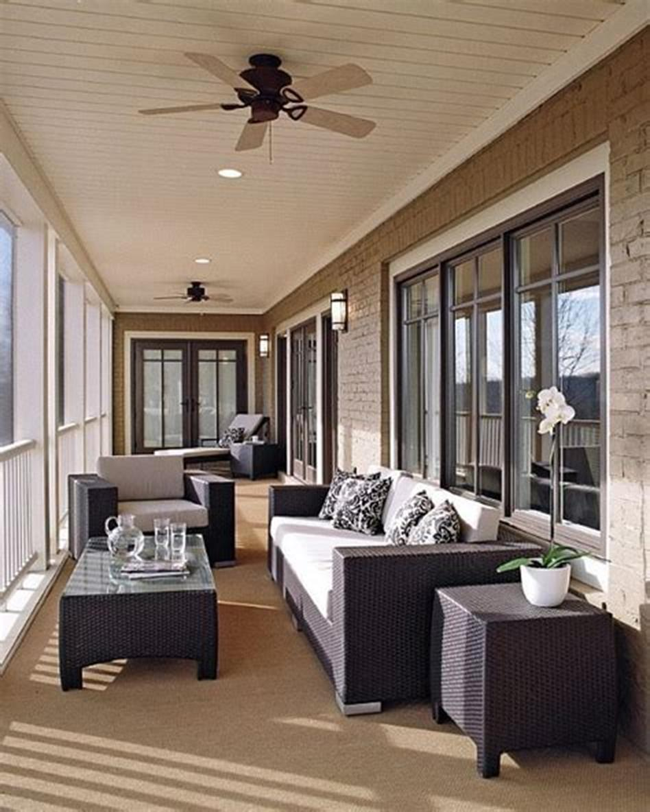 50 Most Popular Affordable Sunroom Design Ideas on a Budget 20