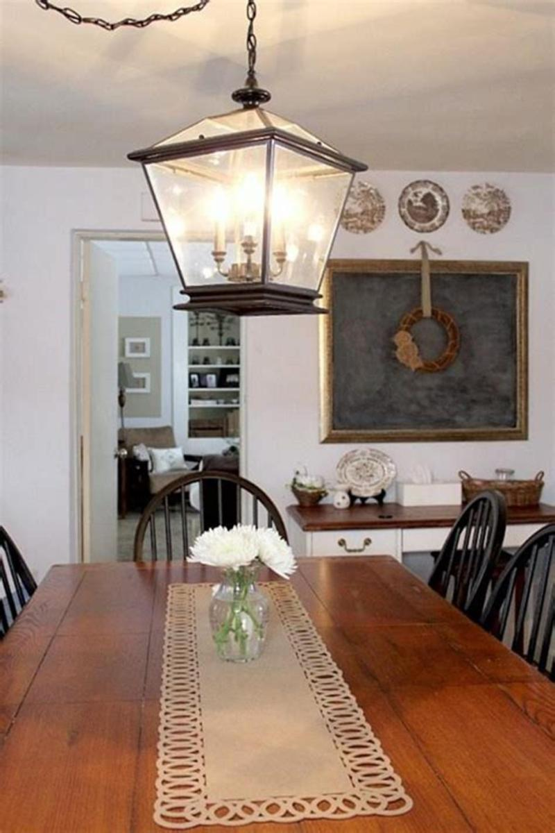 50 Inspiring Farmhouse Style Kitchen Lighting Fixtures Ideas 12