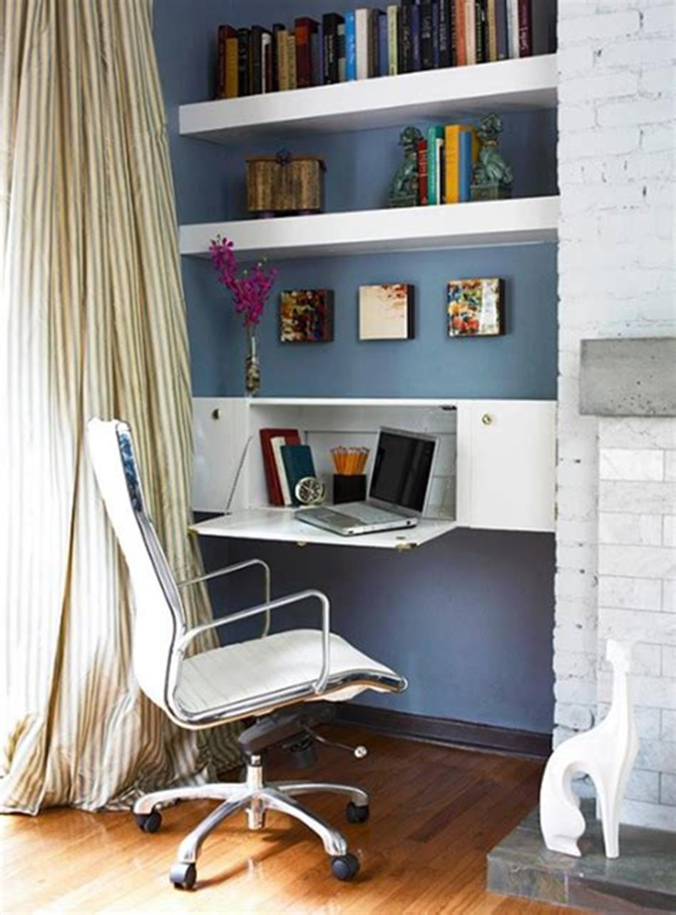 50 Best Small Space Office Decorating Ideas On a Budget 2019 1