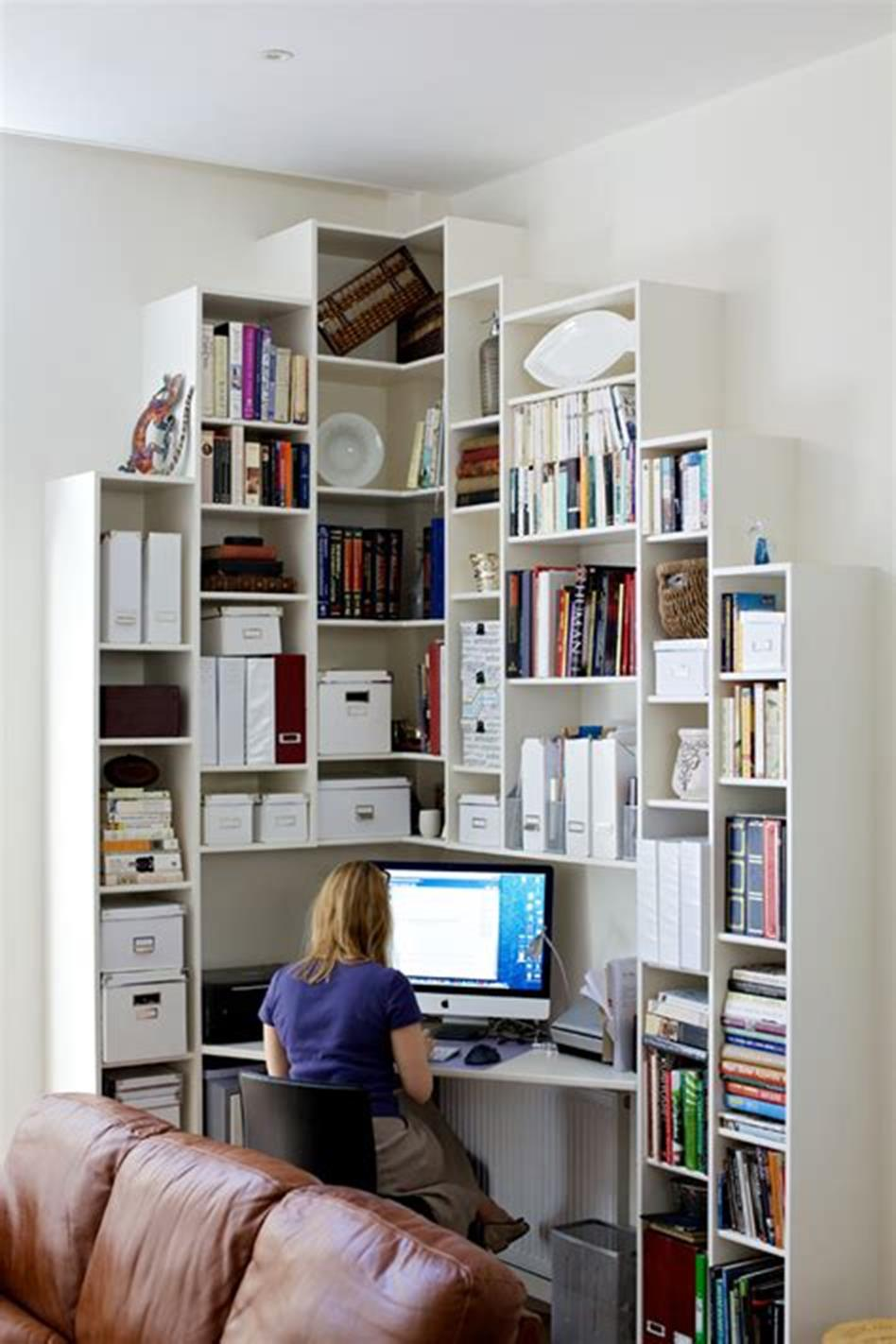 50 Best Small Space Office Decorating Ideas On a Budget 2019 11