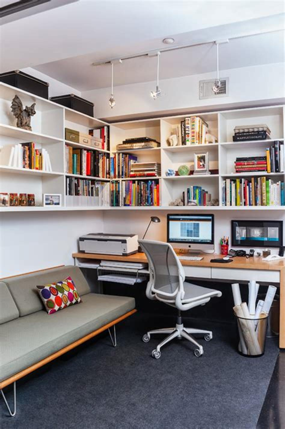 50 Best Small Space Office Decorating Ideas On a Budget 2019 18