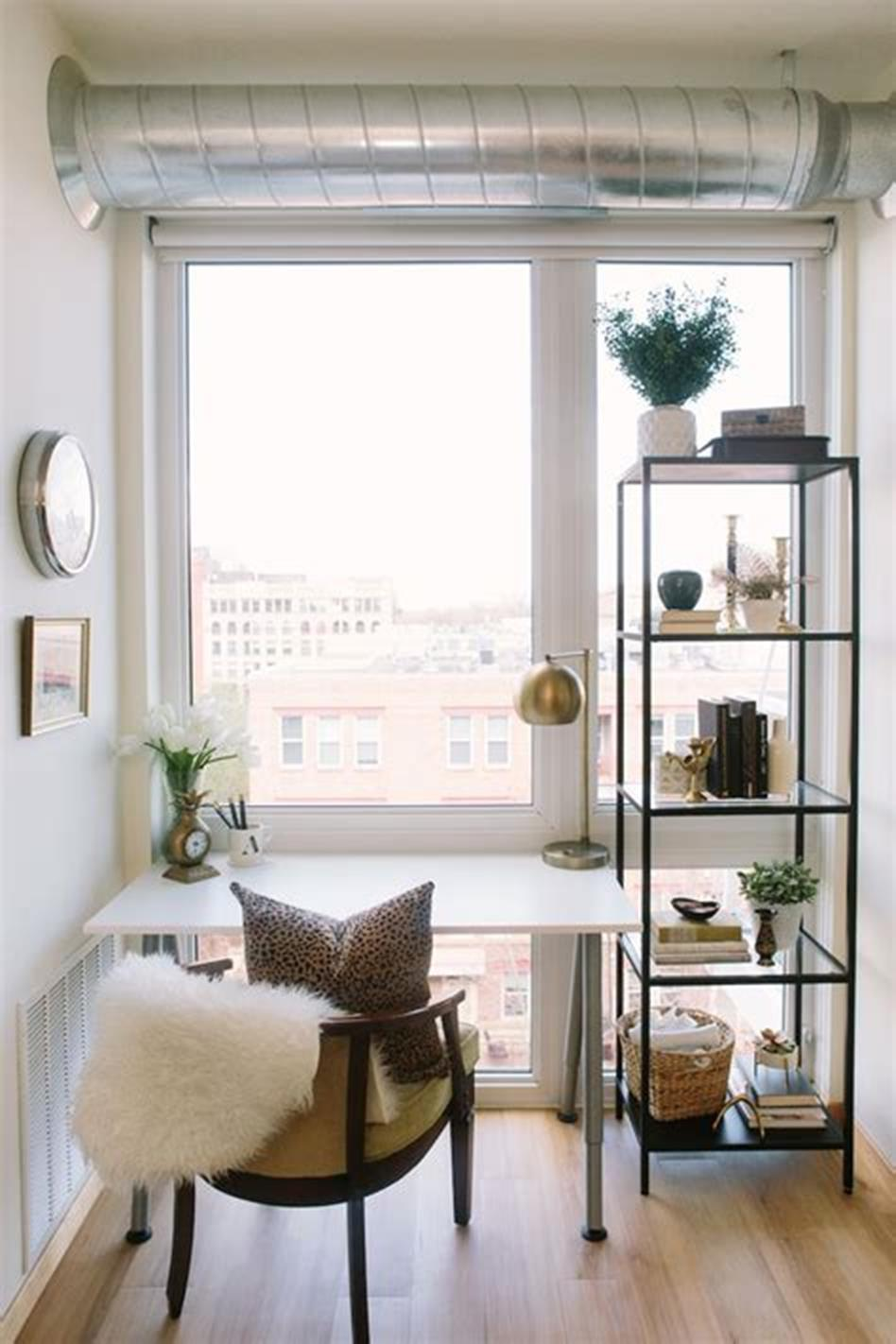 50 Best Small Space Office Decorating Ideas On a Budget 2019 21
