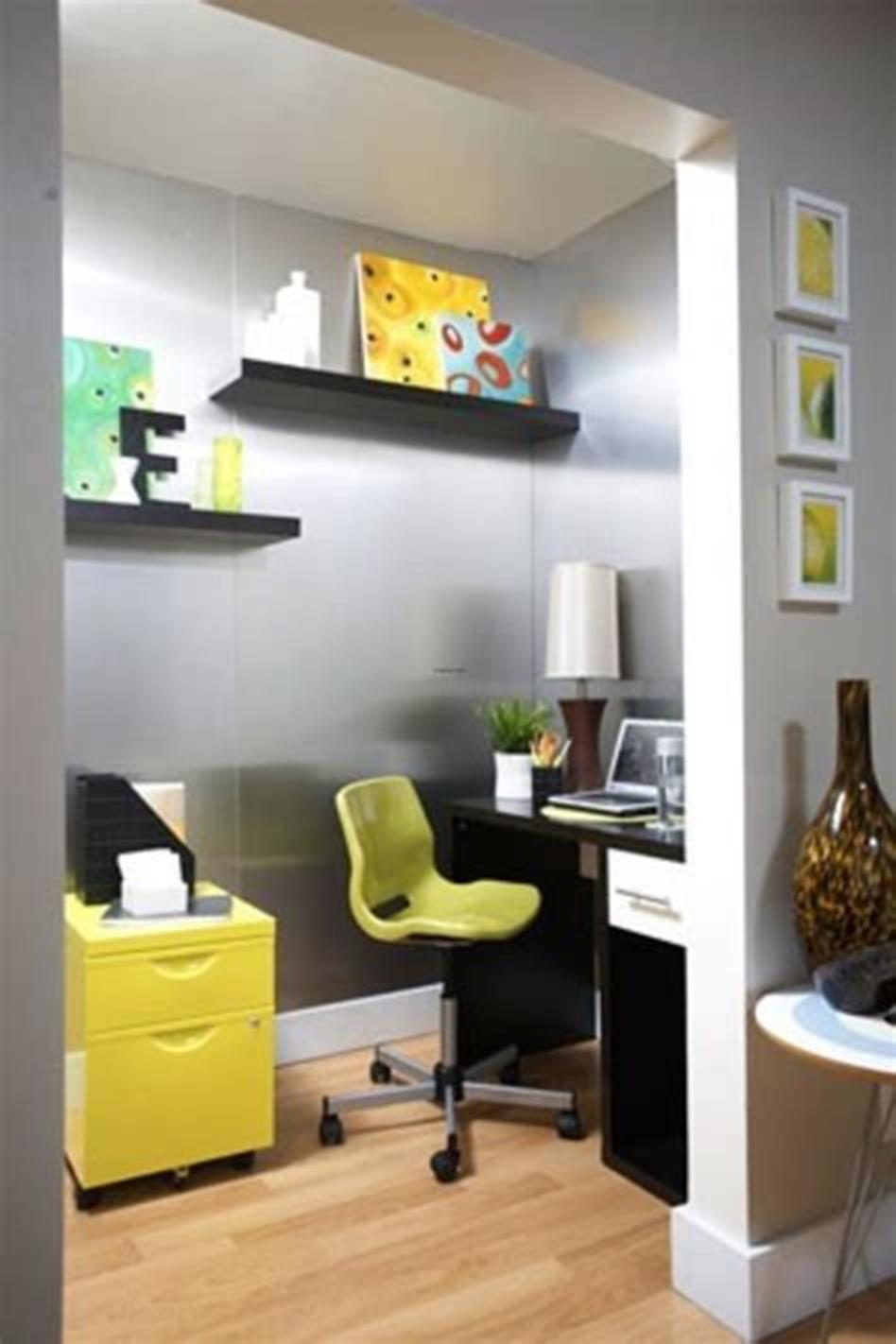 50 Best Small Space Office Decorating Ideas On a Budget 2019 23