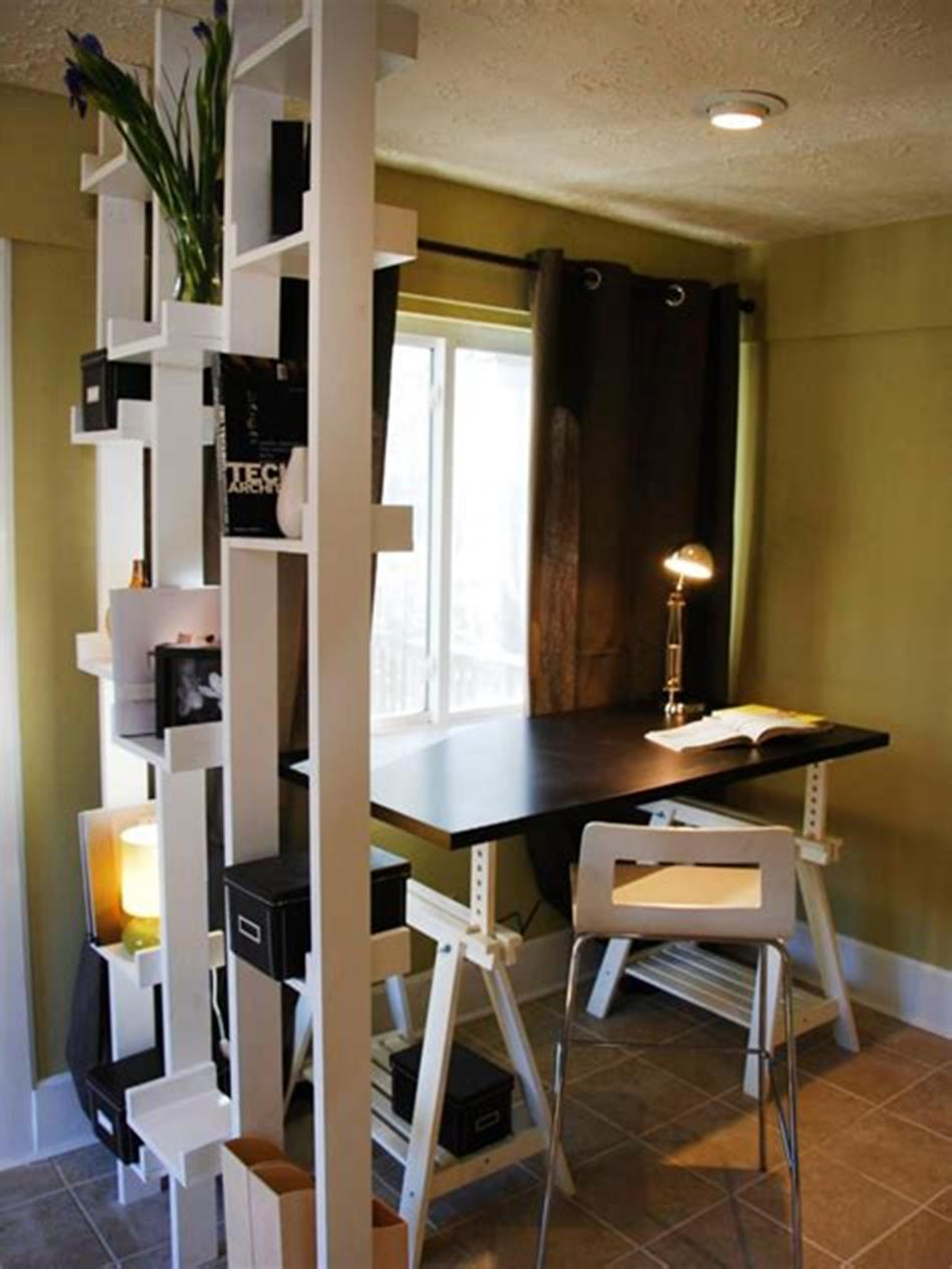 50 Best Small Space Office Decorating Ideas On a Budget 2019 26