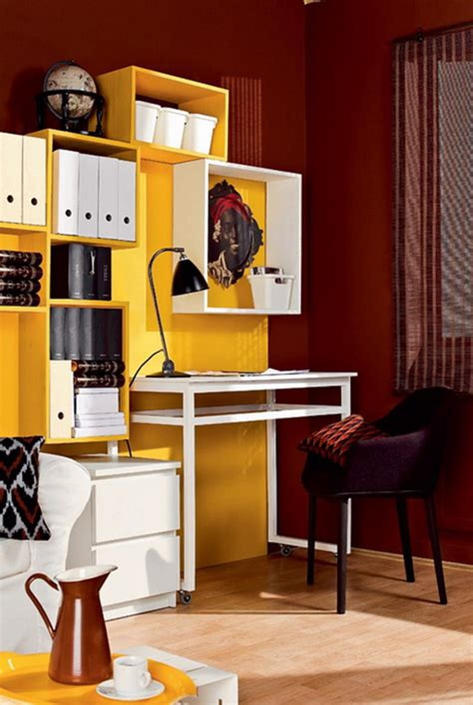 50 Best Small Space Office Decorating Ideas On a Budget 2019 30