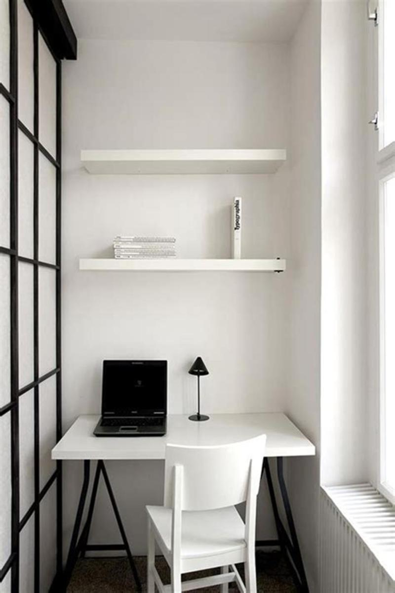 50 Best Small Space Office Decorating Ideas On a Budget 2019 36