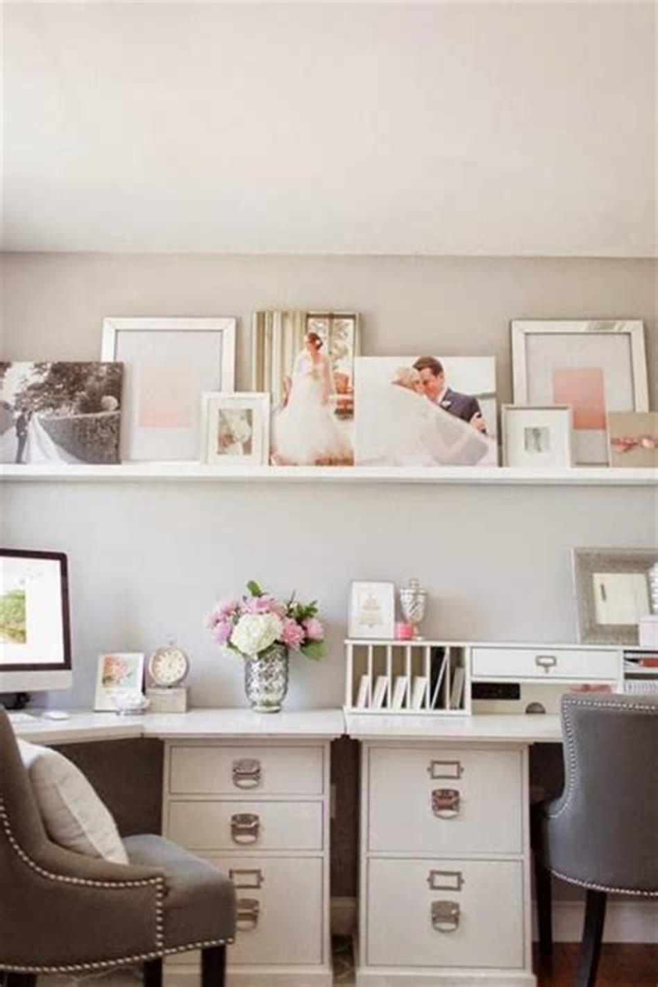 50 Best Small Space Office Decorating Ideas On a Budget 2019 43