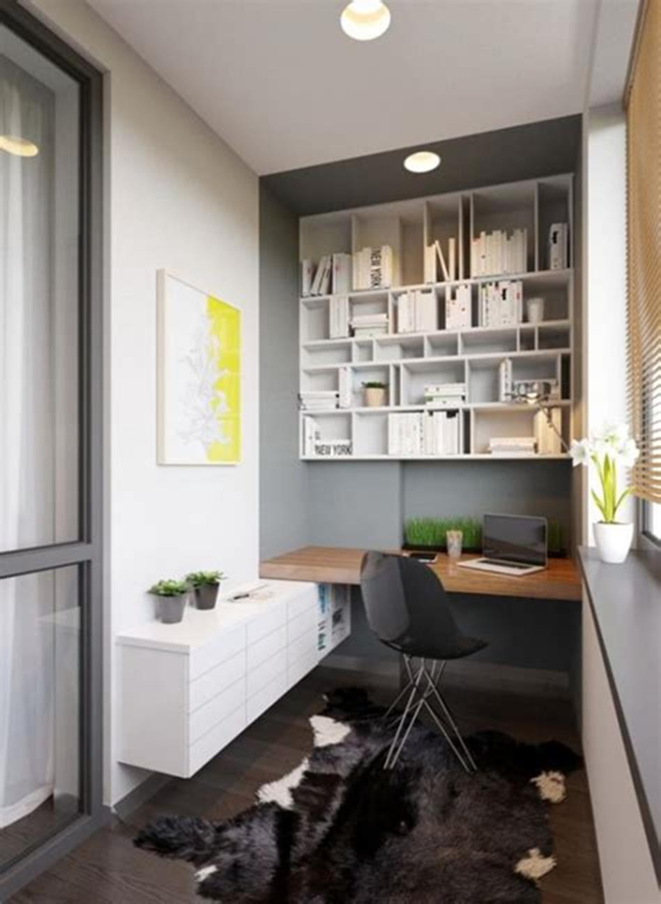 50 Best Small Space Office Decorating Ideas On a Budget 2019 45