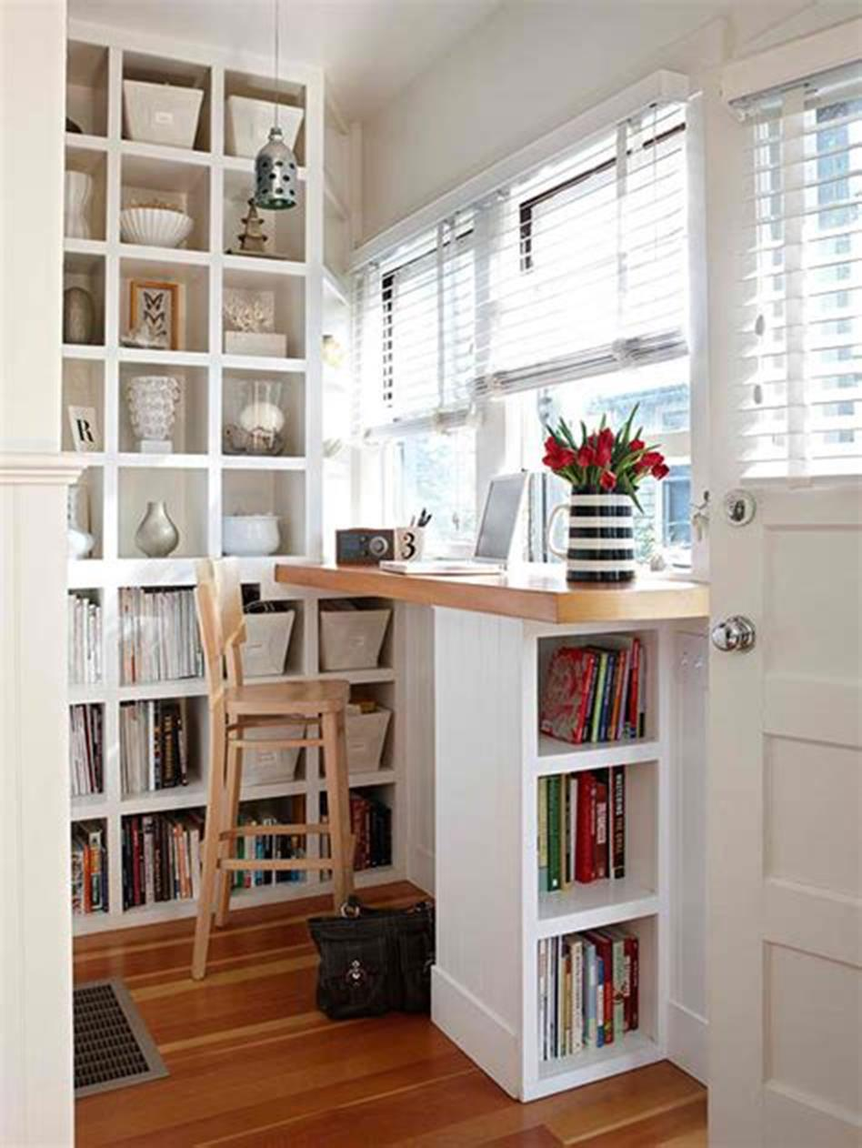 50 Best Small Space Office Decorating Ideas On a Budget 2019 47