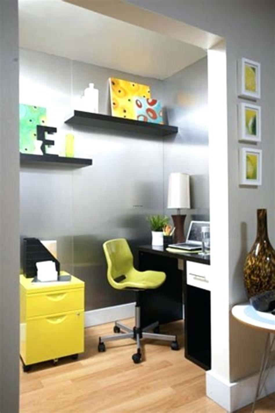 50 Best Small Space Office Decorating Ideas On a Budget 2019 58