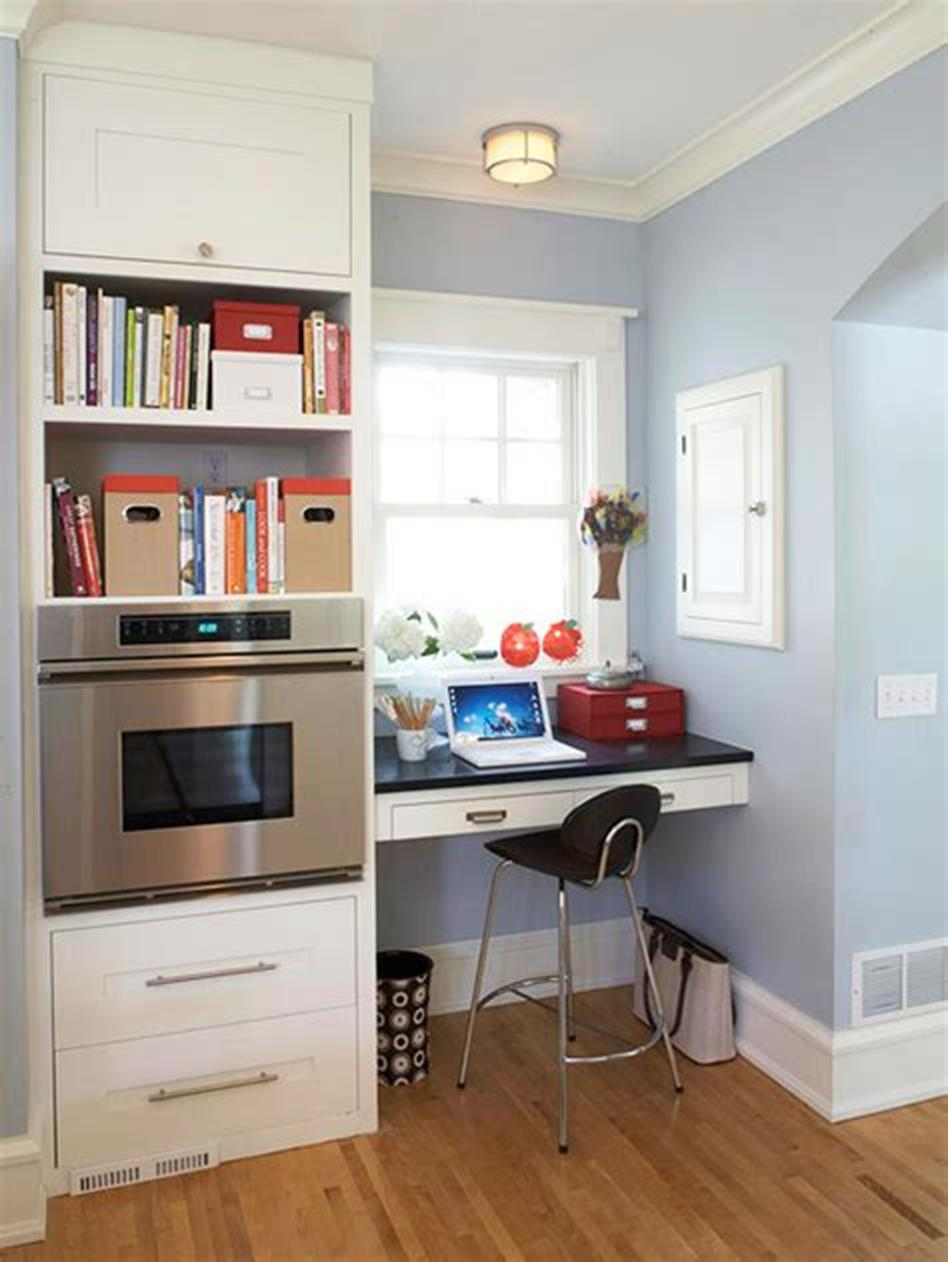 50 Best Small Space Office Decorating Ideas On a Budget 2019 65