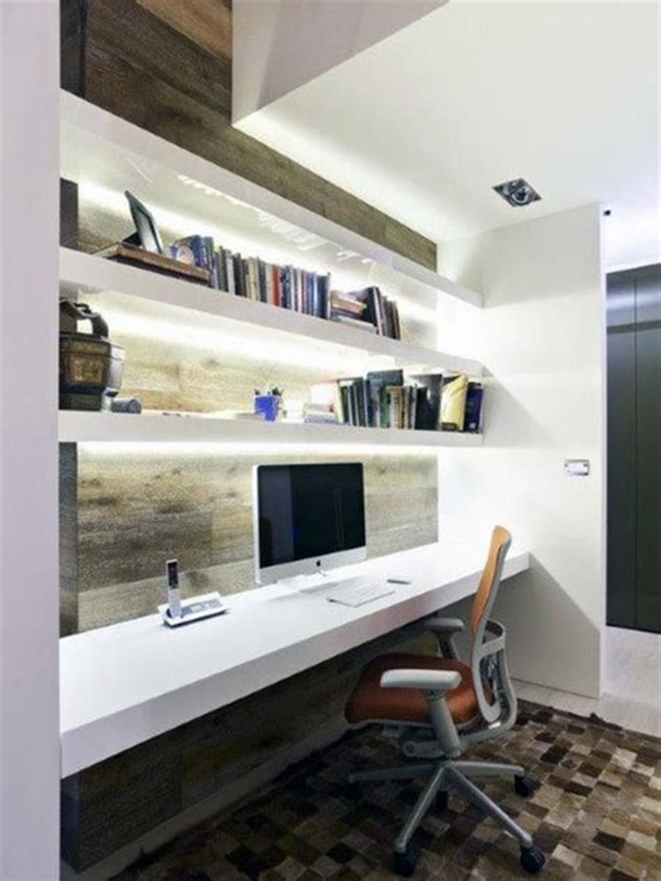 50 Best Small Space Office Decorating Ideas On a Budget 2019 72