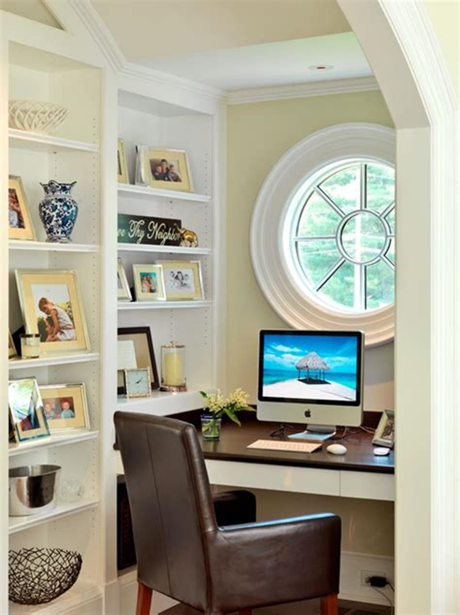 50 Best Small Space Office Decorating Ideas On a Budget 2019 8