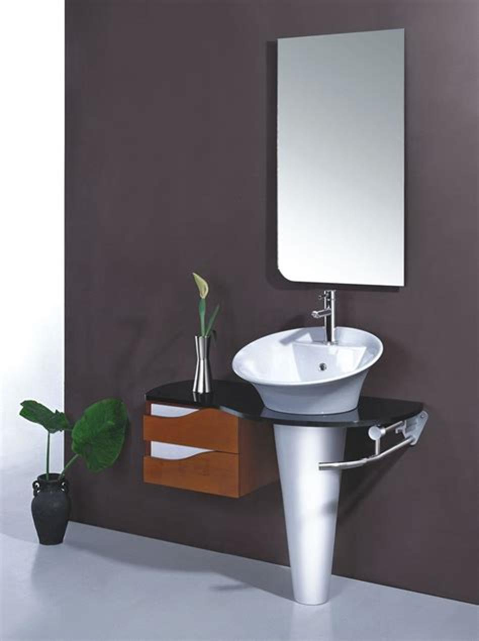 35 Best Wall Mounted Vanities For Small Bathrooms 2019 13