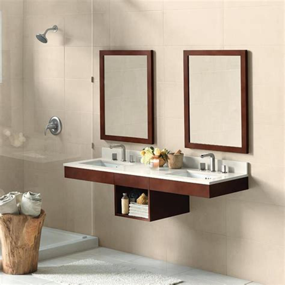 35 Best Wall Mounted Vanities For Small Bathrooms 2019 Gongetech
