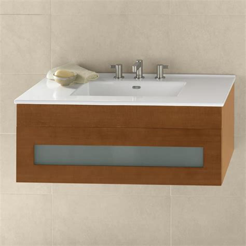 35 Best Wall Mounted Vanities For Small Bathrooms 2019 48