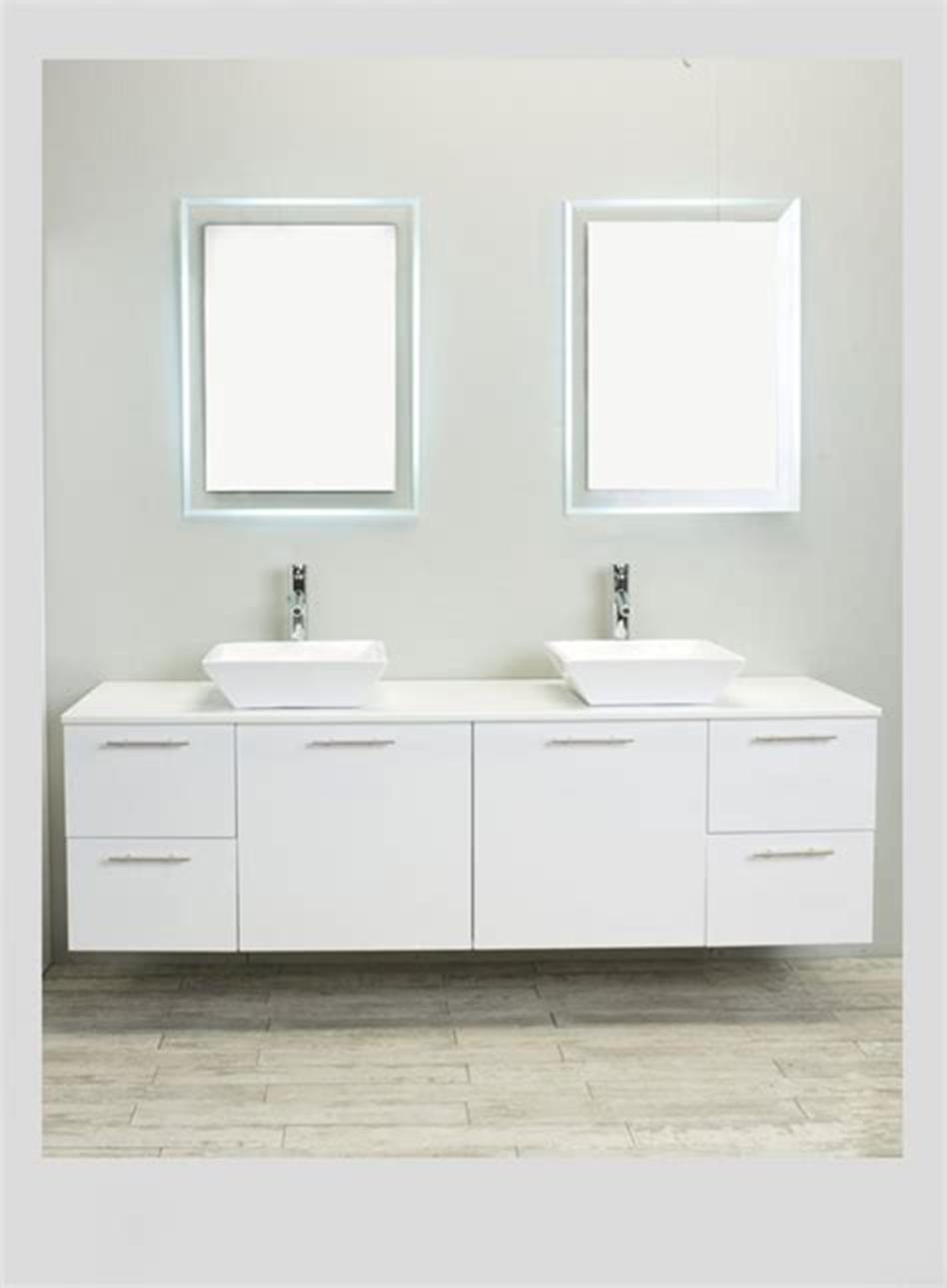 35 Best Wall Mounted Vanities For Small Bathrooms 2019 8