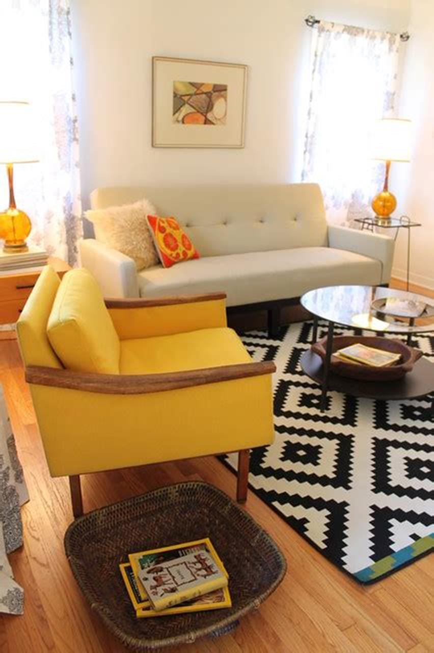 47 Great Mid Century Modern Living room Design and Decorating Ideas 24