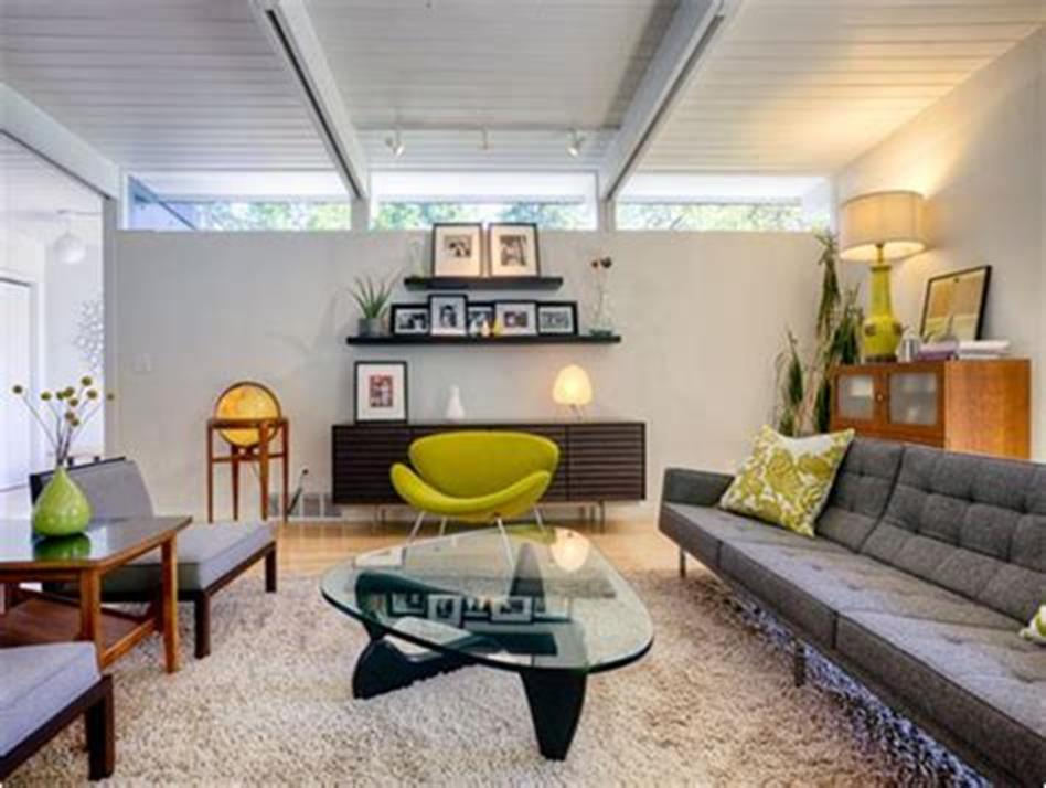 47 Great Mid Century Modern Living room Design and Decorating Ideas 50