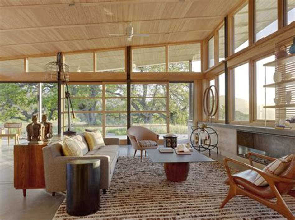 47 Great Mid Century Modern Living room Design and Decorating Ideas 64