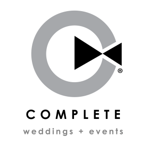 Complete weddings+events Logo