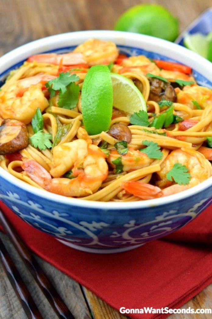 Shrimp Lo Mein Gonna Want Seconds