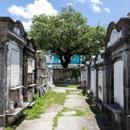 New Orleans is famous for its above ground cemeteries. (Photo: Paul Broussard)