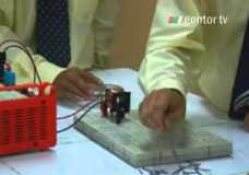 Sains – eksperimen elektromagnet